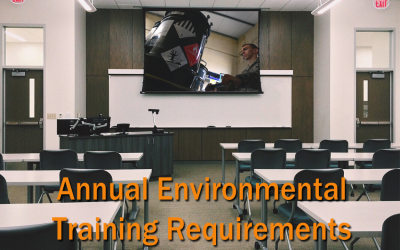 Which Annual Environmental Training Requirements Should You Add to Your Calendar?