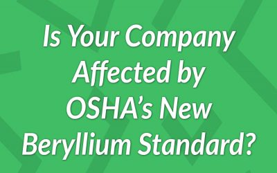 Which Industries Are Affected by OSHA's Beryllium Standard?