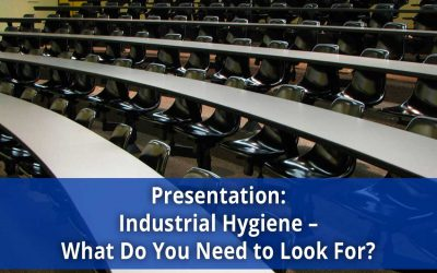 Livengood to Cover Identifying Industrial Hygiene Issues