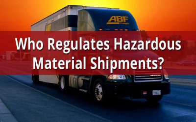 Who Regulates Hazmat Shipments?